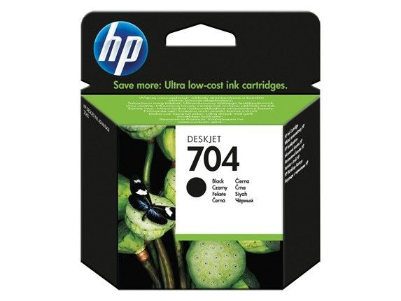HP tusz 704 black