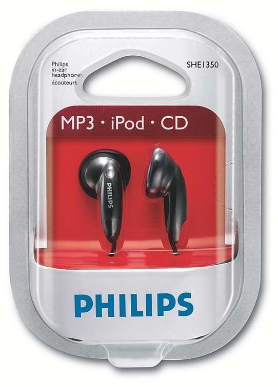 Philips SHE1350 (słuchawki)