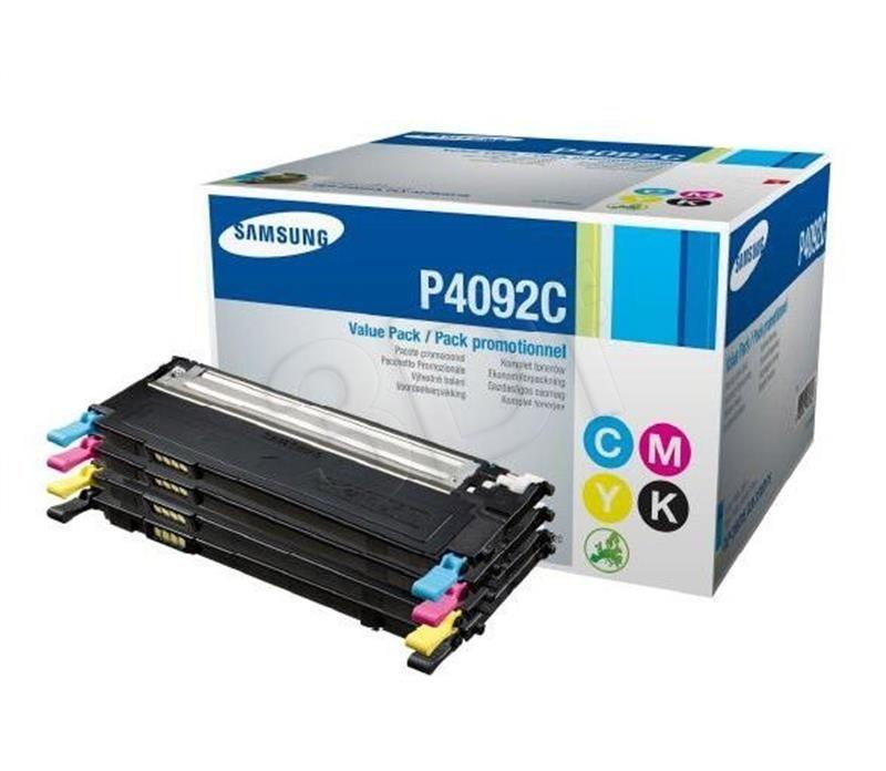 Samsung Zestaw tonery CMYK CLT-P4092C | CMY 1 000str, K 1 500str | CLP-31X