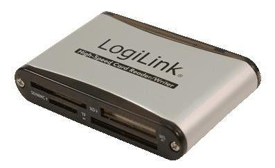 LogiLink CR0001B czytnik kart pamięci USB 2.0 56w1 (zewnętrzny)