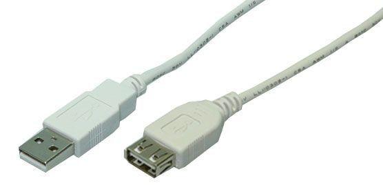 LogiLink CU0010 kabel przedłuzacz USB 2.0 1,8m