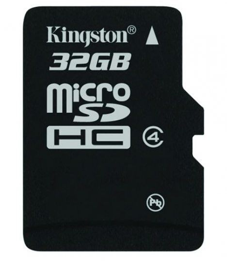 Kingston karta pamięci Micro SDHC 32GB Class 4 bez Adaptera