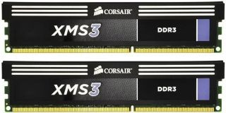 Corsair XMS3 2x4GB 1600MHz DDR3 CL9 DIMM 1.65V Radiator