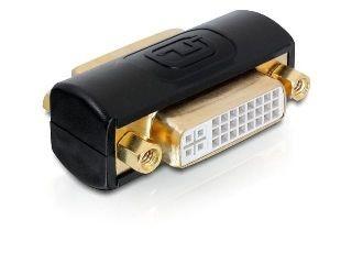 DeLOCK adapter DVI-I(F)->DVI-I(F) (beczka, pozłacane styki)