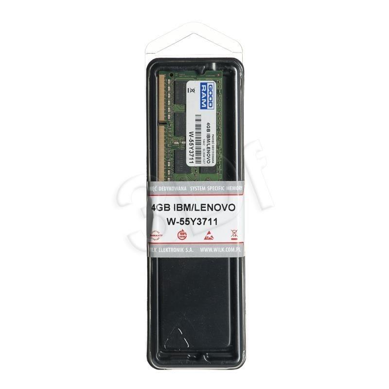 GoodRam W-55Y3711 memory IBM/Lenovo 4GB PC3-10600