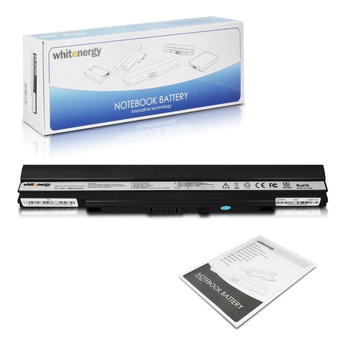 Whitenergy bateria do laptopa Asus A42-UL30/UL50/UL80 14.8V Li-Ion 4400mAh