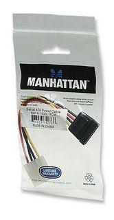 Manhattan adapter zasilania Molex - SATA torebka