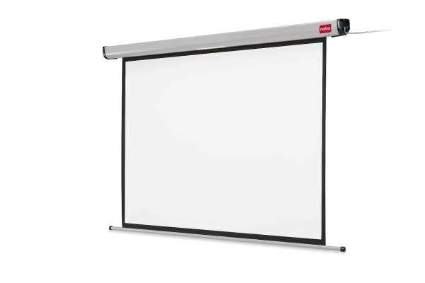 Nobo ekran projekcyjny Electric (sufitowy ścienny rozwijany bezprzewodowo rozwijany elektrycznie 240x180cm)