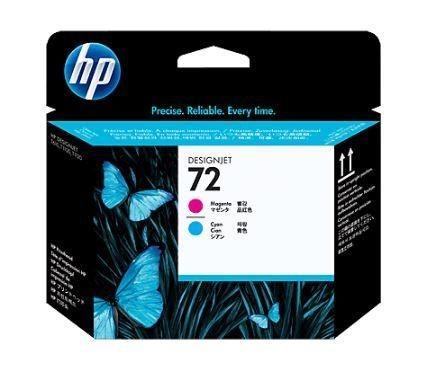 HP głowica 72 magenta + cyan