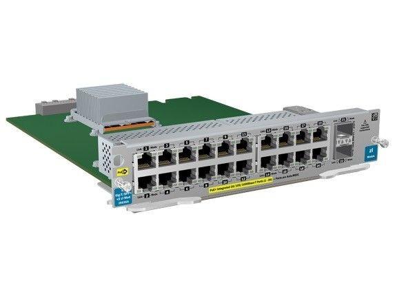 HP ARUBA 20p GT PoE+/2p SFP+ v2 zl Module J9536A