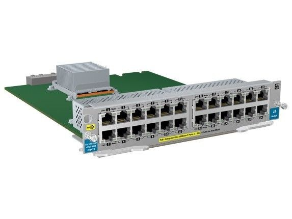 HP ARUBA 24-port 10/100 PoE+ v2 zl Module J9547A