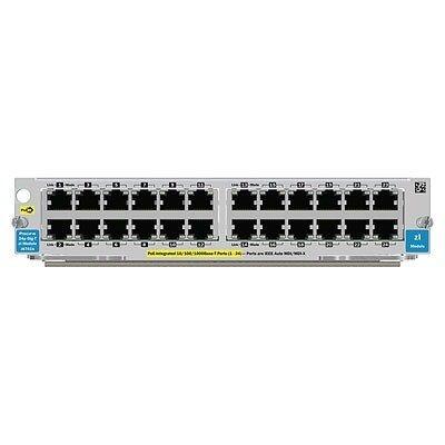 HP ARUBA 24-port Gig-T PoE+ v2 zl Module J9534A