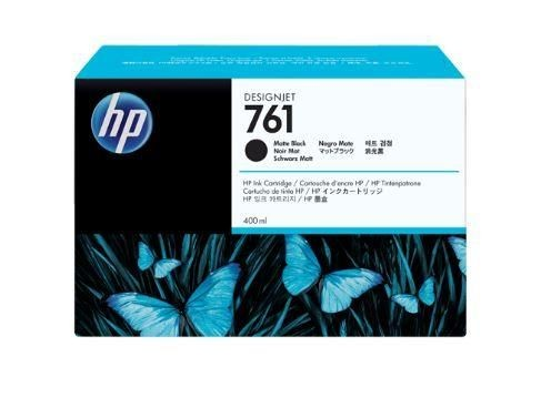 HP 761 400ml Matte Black Ink Cartridge