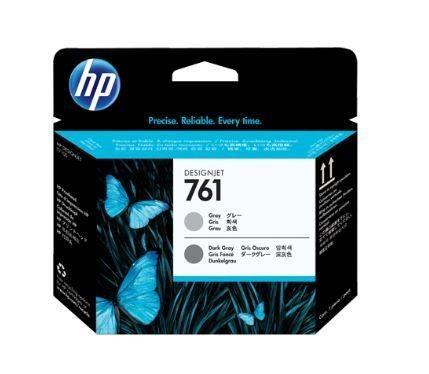 HP 761 Gray and Dark Gray Printhead