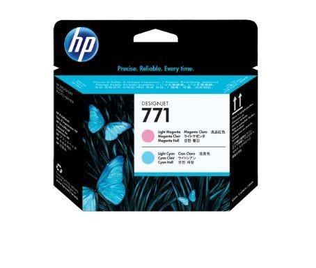 HP no.771 Light Magenta/Light Cyan Designjet Printhead