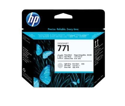 HP no.771 Photo Black/Light Grey Designjet Printhead