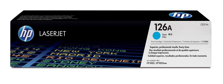 HP Toner HP 126A cyan | 1000str | Color LaserJet Pro CP1025