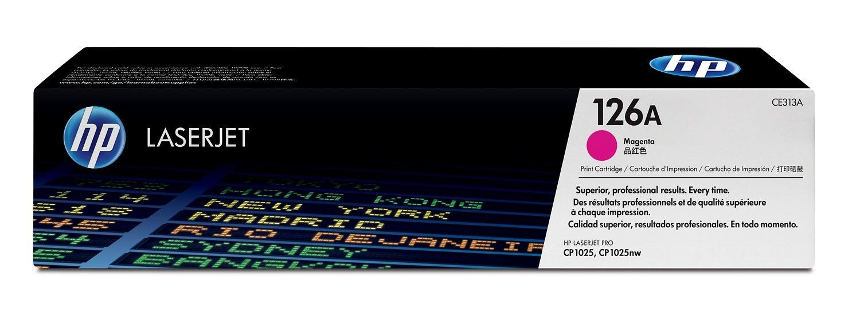 HP Toner HP 126A magenta | 1000str | Color LaserJet Pro CP1025