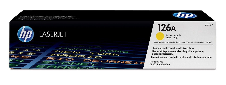 HP Toner HP 126A yellow | 1000str | Color LaserJet Pro CP1025