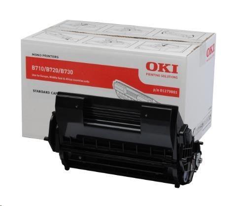OKI Toner black | 15 000str | B710/B720/B730