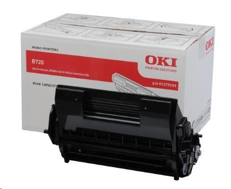 OKI Toner black | 20 000str | B720