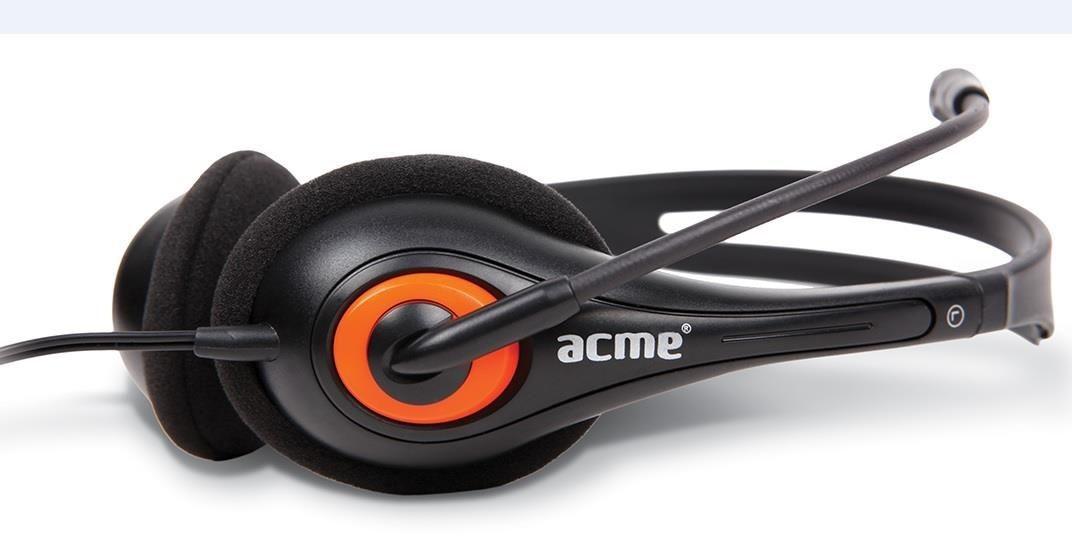Acme słuchawki z mikrofonem HM-01