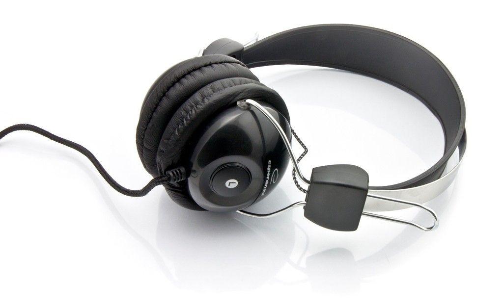 Esperanza Słuchawki Stereo z Mikrofonem i Regulacją Głośności EH108 VIVACE