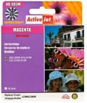 ActiveJet Tusz ActiveJet AB-985M | Magenta | 19,5 ml | Brother LC985M