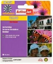 ActiveJet Tusz ActiveJet AB-985Y | Yellow | 19,5 ml | Brother LC985Y