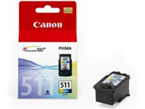 Canon tusz CL511 color BLISTER with security (MP240/MP260)