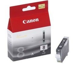 Canon tusz CLI8BK black BLISTER with security (13ml, iP4200/4300/5200/5300/6600/6700/MP500)
