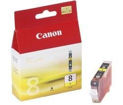 Canon tusz CLI8Y yellow BLISTER with security (13ml, iP3300/4200/4300/5200/5300/6600/6700)