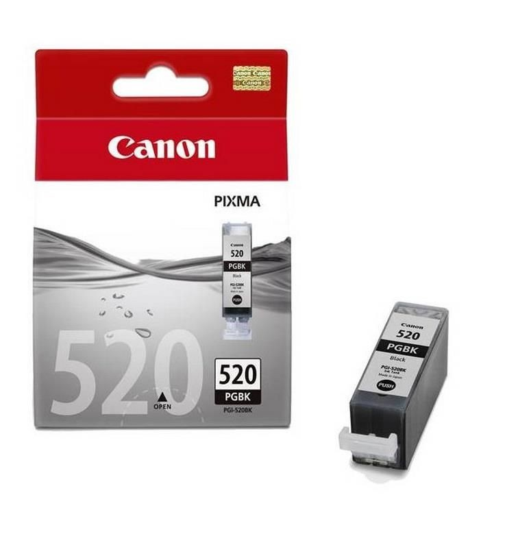Canon tusz PGI520 black BLISTER with security (IP3600/IP4600)