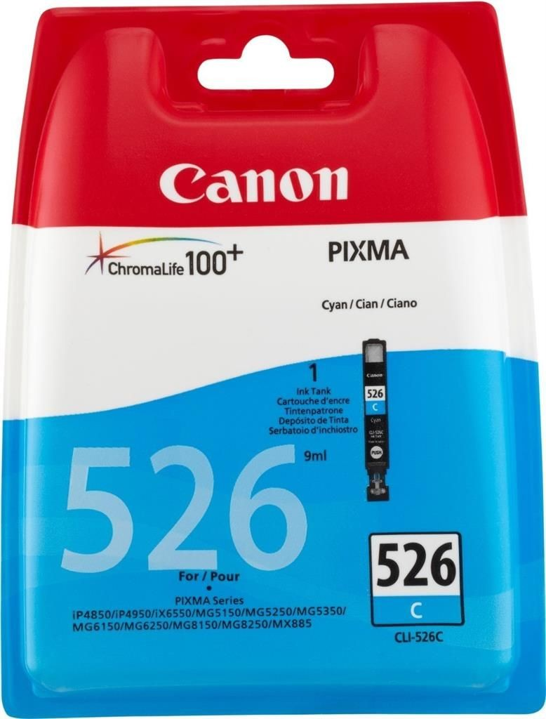 Canon wkład atramentowy CLI526 C blister with Security
