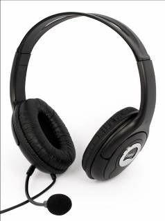 Logic Concept Słuchawki Nagłowne LH-30 Black z Mikrofonem