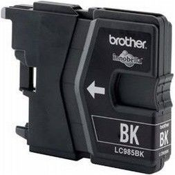 Brother Tusz LC985BK black | 300pgs | DCPJ125/J315w/J515w/J220/J265w