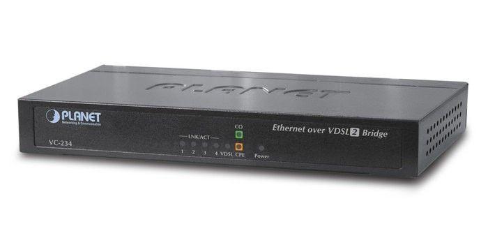 Planet VC-234 konwerter VDSL2 (1xRJ-11, 4xRJ-45, 30A)
