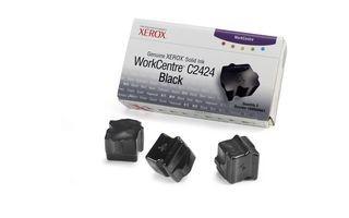 Xerox Kostki Solid Ink black x3 | 3 400str | WorkCentre C2424