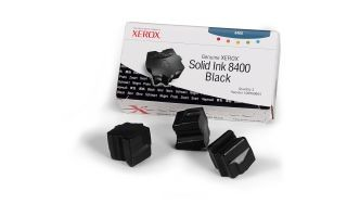 Xerox Kostki Solid Ink black x3 | 3 400str | Phaser 8400