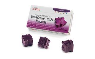 Xerox Kostki Solid Ink magenta x3 | 3 400str | WorkCentre C2424
