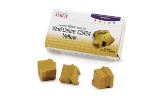 Xerox Kostki Solid Ink yellow x3 | 3 400str | WorkCentre C2424