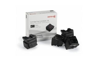 Xerox Kostki Solid Ink black x4 | 8 600str | ColorQube 8570
