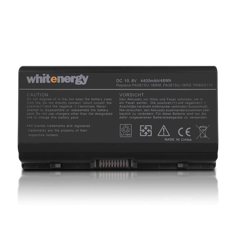 Whitenergy bateria do laptopa Toshiba PA3615 10.8V Li-Ion 4400mAh