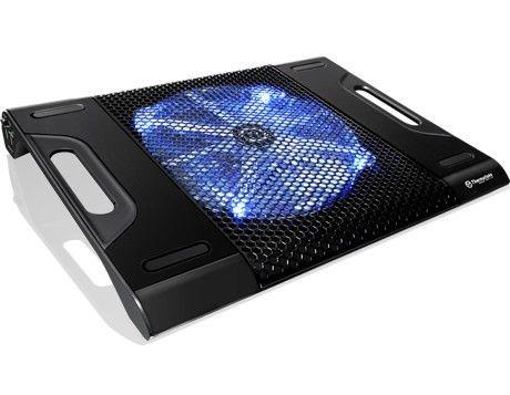 Thermaltake Podstawka chłodząca pod NB'ka - Massive 23 LX (10~17', 200mm Fan, LED) aluminium