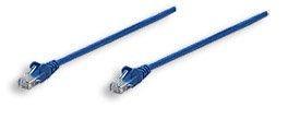 Intellinet patch cord RJ45 (kat. 5e UTP, 10m, niebieski)