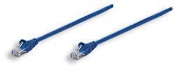 Intellinet patch cord RJ45 (kat. 5e UTP, 1m, niebieski)