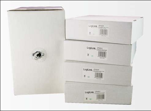 LogiLink kabel transmisyjny drut 4x2xAWG24/1 UTP CCA 100m