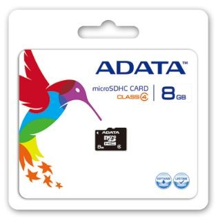 A-Data micro Secure Digital 8GB (Class 4)