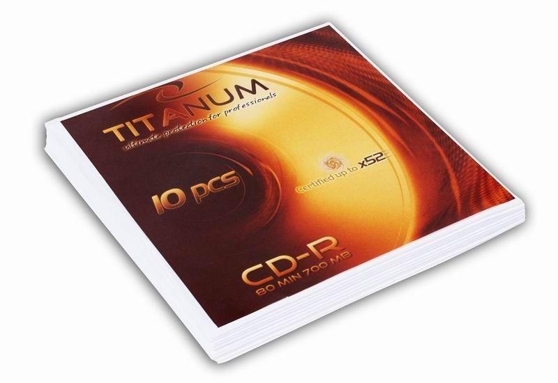 Titanum CD-R 700MB x56 - Koperta 10