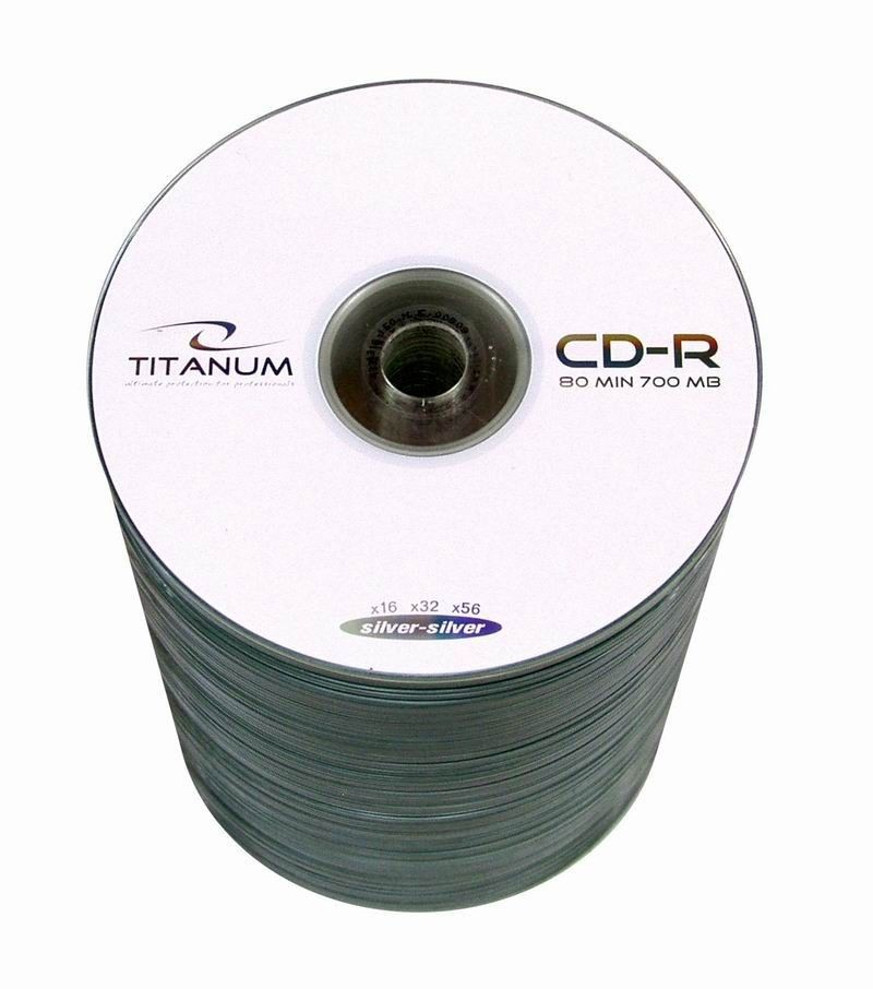Titanum CD-R 700MB x56 - S-100